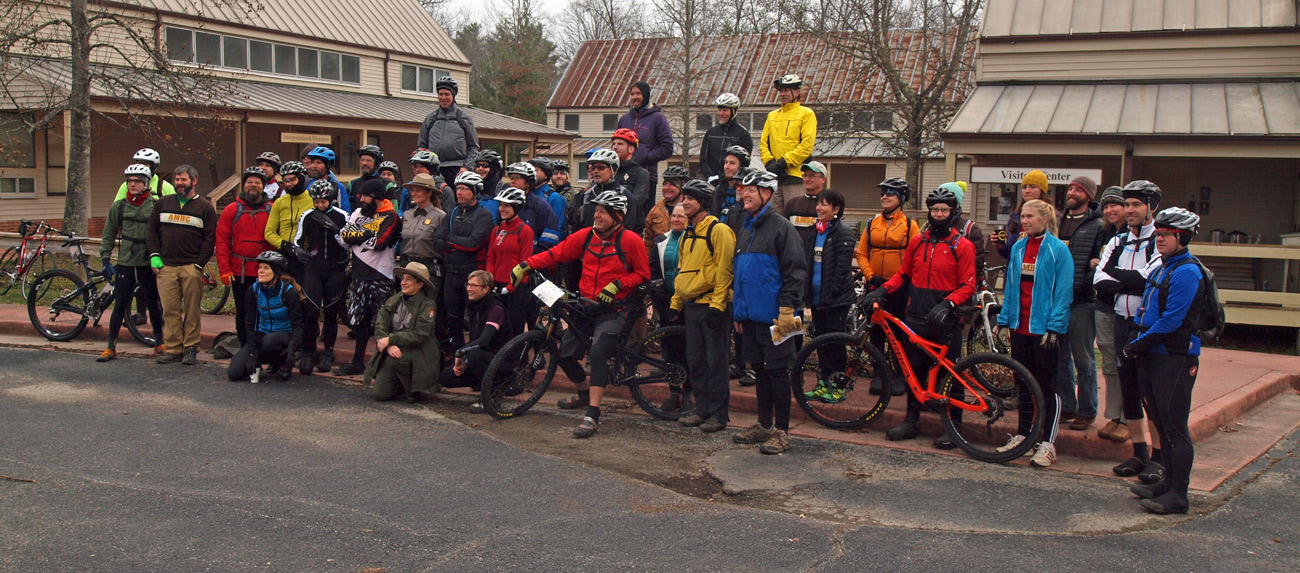 January 1 2016 Mail Run Ride group